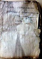 MANUSCRIT 18° RECUEIL DE CHANSONS 1769 CHANTS SUR L'AMOUR PREPARATION DU CAFE GASTRONOMIE LA CHASSE - Manuscrits