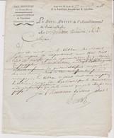 Lettre Du Sous-préfet De Saint-Malo, 27 Nivose An 11 - Documents Historiques