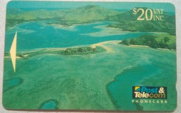 04FJE Fiji From Above $20 - Fiji
