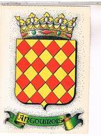 BLASON ECUSSON ARMOIRIES ARMES    REGION ANGOUMOIS - Poitou-Charentes