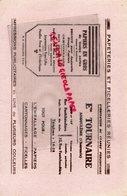 16- ANGOULEME - BUVARD ETS. TOURAIRE - PAPETERIES FICELLERIES REUNIES-PAPETERIE- PAPIERS CARTONNAGE-32 RUE FONTCHAUDIERE - Papeterie