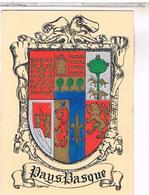 BLASON ECUSSON ARMOIRIES ARMES    REGION PAYS BASQUE - Aquitaine