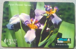 12FJB Fihian Flowers $3 - Fiji