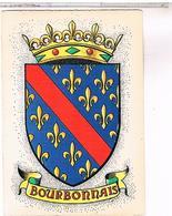 BLASON ECUSSON ARMOIRIES ARMES    REGION  BOURBONNAIS - Franche-Comté