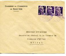 Secrétaire Général De La Chambre De Commerce D'Épinal Chambre De Commerce Saint-Dié Grève 1953 - Sciopero
