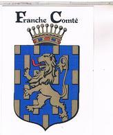 BLASON ECUSSON ARMOIRIES ARMES    REGION  FRANCHE COMTE - Franche-Comté