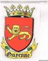 BLASON ECUSSON ARMOIRIES ARMES    REGION  GUTENNE - Aquitaine