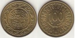 TUNISIA 100 Millimes 2008 KM#309 - Used - Tunisia