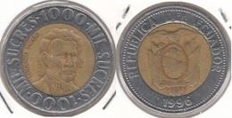 Ecuador 1000 Sucres 1996 KM#99 - Used - Equateur