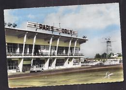 CPSM 94 - ORLY - Aéroport PARIS ORLY - L'Entrée De L'Aérodrome - TB PLAN Façade + CITROEN 2 CV - Aeródromos