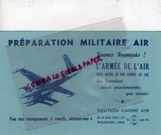 17- ROCHEFORT SUR MER-RARE BUVARD AVIATION ARMEE DE L' AIR- BASE ECOLE 721 - AVION SECTION CADRE AIR - Transports