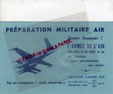 17- ROCHEFORT SUR MER-RARE BUVARD AVIATION ARMEE DE L' AIR- BASE ECOLE 721 - AVION SECTION CADRE AIR - Transport