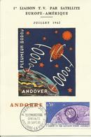 ANDORRA,  TARJETA POSTAL  ESPACIO - Cartas