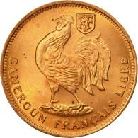 Monnaie, Cameroun, 50 Centimes, 1943, Pretoria, FDC, Bronze, KM:6 - Cameroon