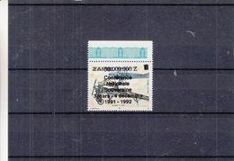 Avions - Zaïre - Timbre De 1978 ** Avec Surcharge Conférence Nationale Souveraine - Zaïre