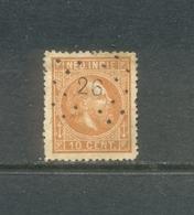 Puntstempel 26 Op Nvph 9      SvL 2 - Niederländisch-Indien