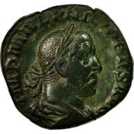 Monnaie, Philippe I L'Arabe, Sesterce, 244-247, Rome, TB+, Cuivre, RIC:174 - 5. L'Anarchie Militaire (235 à 284)