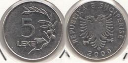 Albania 5 Lekë 2000 KM#76 - Used - Albania