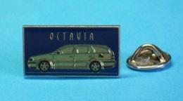 1 PIN'S //   ** SKODA OCTAVIA ** - Badges