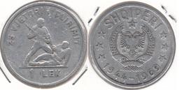 Albania 1 Lek 1969 25th Anniversary Of Liberation KM#48 - Used - Albanie