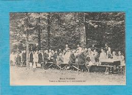 Catheux. - Bois De Vidame, 3 Km De Fontaine-Bonneleau Et Choqueuse-lès-Bernard. - Table Du Méchoui Du 17 Septembre 1911. - Autres Communes