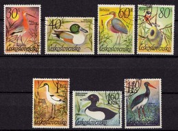 Tschechoslowakei 1967 Vögel Birds Gest. (b357 - Vögel