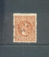 Puntstempel 84 Op Nvph 9      SvL 4 - Niederländisch-Indien