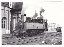 CPM VOIR DOS 80 Noyelles Locomotive Vapeur 130 T 3853 Faisant De L'eau Beaux Leviers D'aiguillages En 1951 - Noyelles-sur-Mer