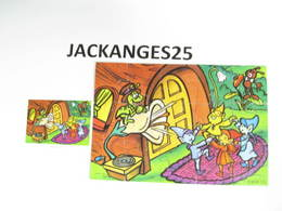 KINDER PUZZLE K00 N 115 1999 + BPZ - Puzzles