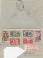LETTRE.  (ETAT). 14 SEPT 37. NOUMEA POUR PORT LOUIS MAURITIUS PAR SYDNEY. SERIE EXPOSITION INTERNATIONALE DE 1937 PARIS - Neukaledonien