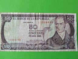50 Pesos Oro 1975 - Colombie