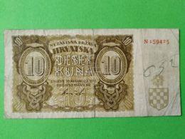 10 Kuna 1941 - Croatie