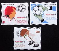 MALTA  1986      MiNr.748-50   MNH (**) ( Lot  F 76 ) - Malta