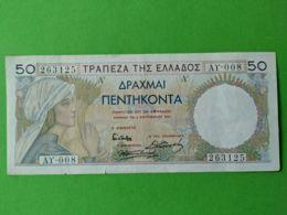 50 Drakme 1935 - Grecia