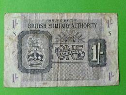 1 Shilling British Military Autority - [ 3] Emissioni Militari