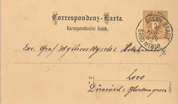 Brünn Stadt Brno Mesto Loco Glockengasse Dornrösel 1885 - 1850-1918 Imperium