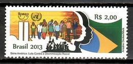Brazil 2013 Brasil / UPAEP Fight Against Racial Discrimination MNH Lucha Contra La Discriminación Racial / Cu9805  29 - Emisiones Comunes