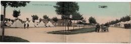 Mailly : Carte Panoramique Double Format : Vue Générale En 1914 (Editeur A. Verry) - Mailly-le-Camp