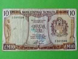 10 Liri 1967 - Malta