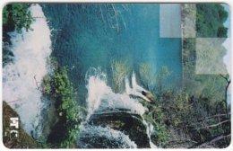 CROATIA C-930 Chip HT - Landscape, Waterfall - Used - Croatia