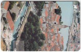 CROATIA C-958 Chip HT - View, Historic Town - Used - Croatia