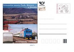 Rep. Ceca / Cart. Postali (Pre2016/50) Ponti Ferroviari In Boemia, Moravia E Slesia (5) Viadotto Di Jezernice - Ponti