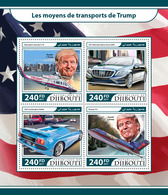 DJIBOUTI 2017 - Trump's Plane - YT 1520-3; CV=20 € - Vliegtuigen