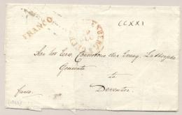 Nederland - 1843 - GEERTRUIDENBERG + Franco Op Deel Van Omslag Naar Deventer - Nederland