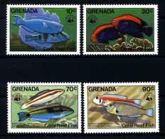 E10406)WWF, Grenada 1299/1302** - Unused Stamps