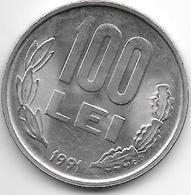 *romania 100 Lei  1991 Km 111 Unc - Roumanie