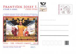 Rep. Ceca / Cart. Postali (Pre2016/51) Anno Dell'imperatore E Re Francesco Giuseppe I. (1830-1916) - Anno Giubilare - Fabbriche E Imprese
