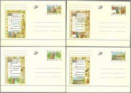 Cob BK54/65 Miniatures Avec Les 12 Mois De L'année ** - Entiers Postaux