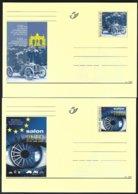 Entiers Postaux Cob BK 96/97 Salon International De L'automobile  Bruxelles   ** - Voitures