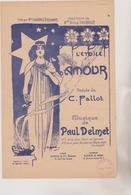 (GEO) L' ETOILE D' AMOUR   Poesie De C FALLOT  , Musique PAUL  DELMET , Illustration SEGAUD - Partitions Musicales Anciennes